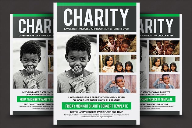 Charity Fundraising Flyer Templates Flyer Templates Creative