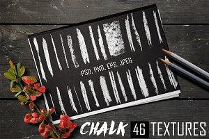 46 Chalk textures.