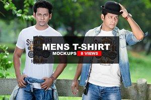 Man T-shirt Mockups
