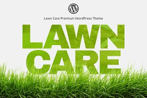 Lawn Care - WordPress theme