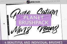 Planet Brushpack for Procreate