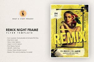 Remix Night Frame