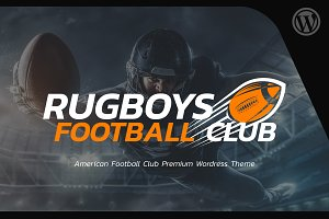 American Football - WordPress theme