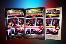 Rockwell Concert Flyer
