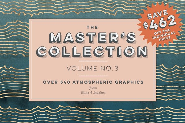 Patterns: Blixa 6 Studios - The Master's Collection: Vol. No. 3