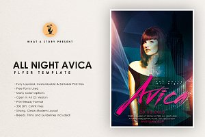 All Night Avica