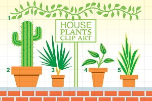 House Plants Clip Art
