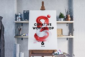 Creative Workshop Mockup Set