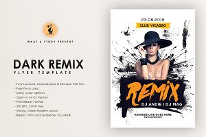 Dark Remix Flyer