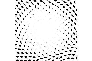 Diamond Pattern Halftone