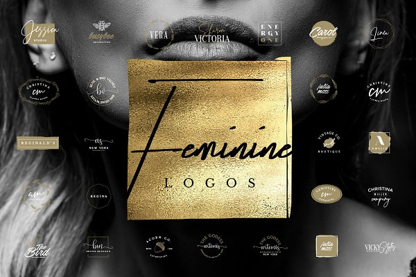 50 Feminine Luxury Logos