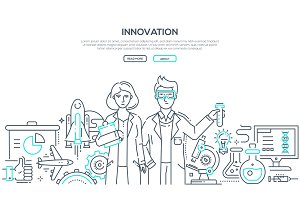 Innovation - line illustration