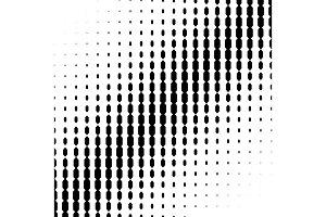 Halftone Angled Lines