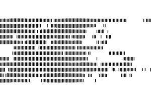 Genetic marker halftone background