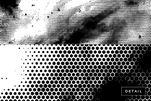 Wide Halftone Texture