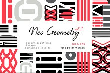 NEO GEO vol2. Geometric pattern set by  in Patterns
