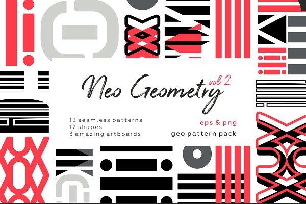Patterns - NEO GEO vol2. Geometric pattern set