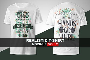 Apparel T-shirt Mock-up Set 2