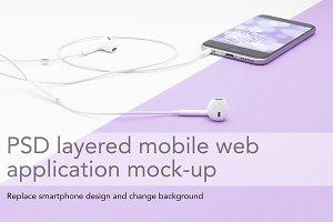 Creative mobile design header