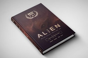 Alien - Book Cover Design
