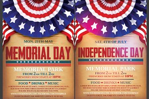 Independence/Memorial Day Flyer