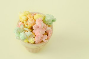 Party Popcorn, Colorful, Sweet