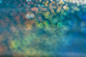 Multicolored abstract bokeh backgrou