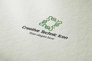 Creative Technic Icon Logo