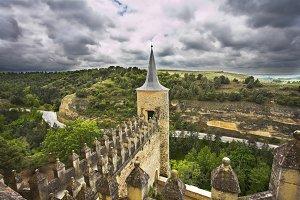 Ancient picturesque castle