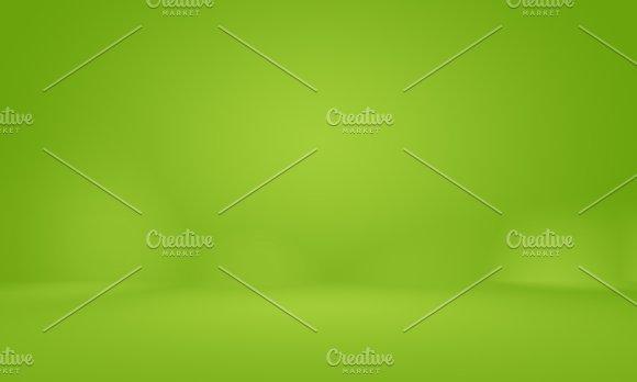 Abstract blur empty Green gradient