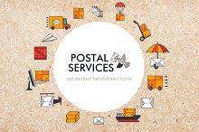 "Set of elements ""Postal services"""