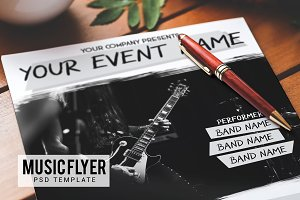 Concert Event Flyer Template