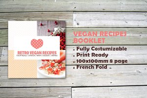 Indesign 8page recipes booklet