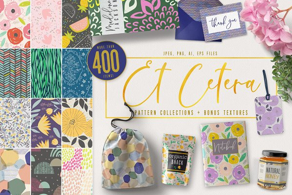Patterns: 7th Avenue Designs - Et Cetera Pattern Collections