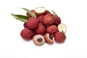 fresh fruit lychee