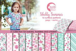 Shabby Summer Papers, AMB-1271