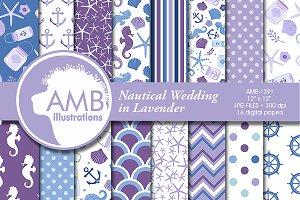 Nautical Wedding Papers, AMB-1391