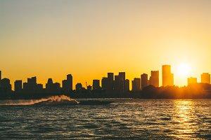 Sunset in Miami