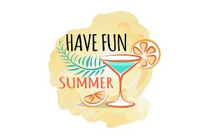 Have Fun Summer Poster with