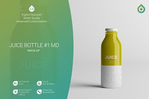 Juice Bottle MD Mock-Up #1  [V2.0]