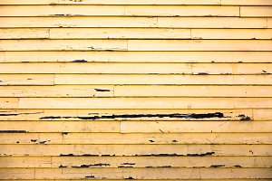Yellow Wooden Wall Background