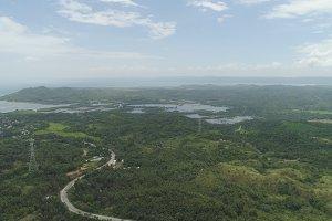 Tropical landscape. Philippines