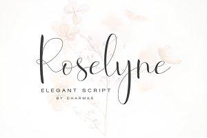 Roselyne Script - 50% OFF