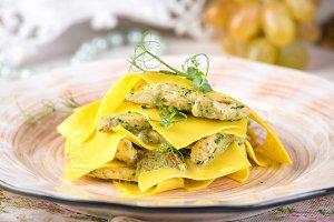 Italian food recipes, traditional pa