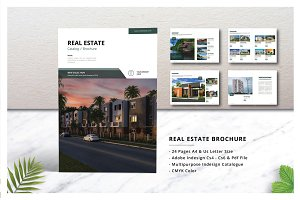 Real Estate Brochure / Catalogs