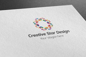 Creative Star Design Logo