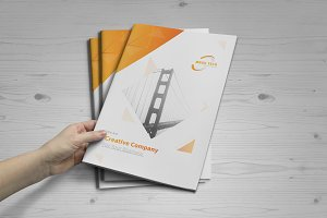 brochure template 16 pages brochure templates creative market