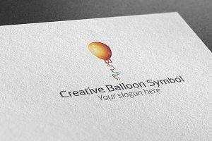 Creative Balloon Symbol Logo