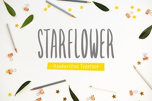 Starflower Typeface