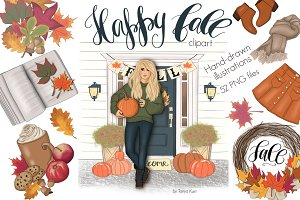 Happy Fall Autumn Design Kit